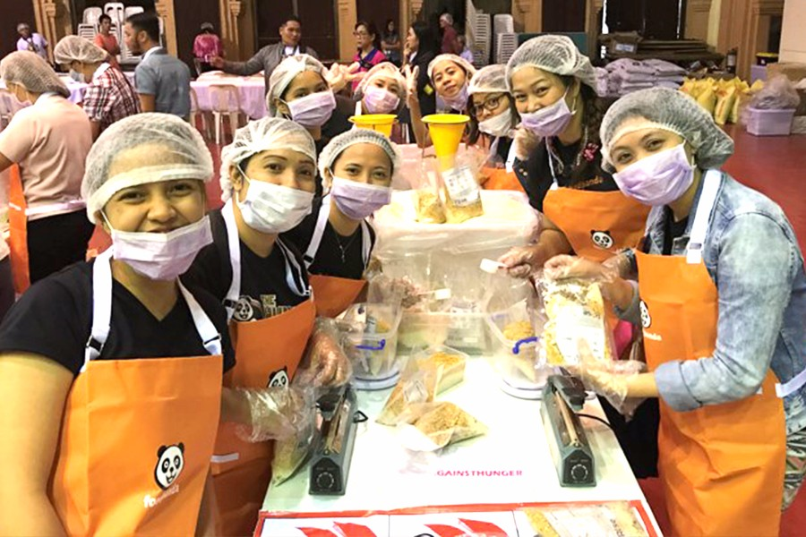 foodpanda vows to fight hunger in PH